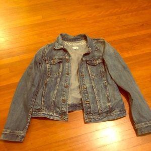Madewell denim jacket